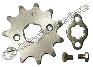 17 Tooth 420 428 520 530 17MM 20MM Sprocket For Taotao Sunl Honda Dirt bike ATV