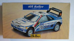 Heller-Peugeot-405-Rallye-Escala-1-43-ref-80190