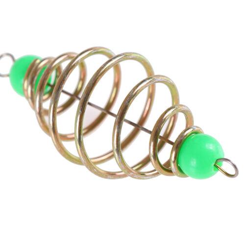 10 Pcs//Set fishing bait spring lure inline hanging tackle stainless steel fee jb