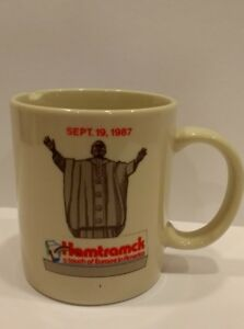 Chipped-Hamtramck-Coffee-Tea-Mug-Cup-Sept-19-1987-Touch-Europe-America-Priest
