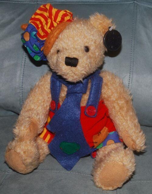 "Teddy Bear Dan Dee Collectors Choice Stuffed Animal Plush Toy Jointed Arms 13"""