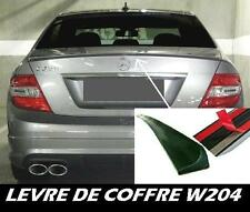 LAME COFFRE MERCEDES BENZ W204 Classe C 2007-11 C320 C350 SPOILER LEVRE AILERON