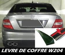LAME COFFRE MERCEDES BENZ W204 Classe C 07-11 C63 AMG V8 SPOILER BECQUET BRABUS