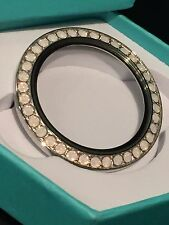 Origami Owl Large Twist Locket Face Rose Pink Opal RARE LIMITED EDITION RARE