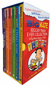 Big-Nate-Series-6-Books-Collection-Box-Set-Pack-By-Lincoln-Peirce-In-the-Zone