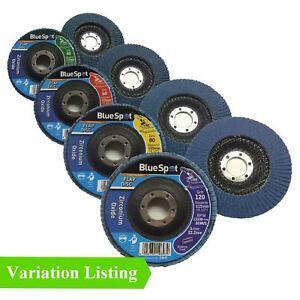 Flap-Wheel-Zirconium-Oxide-Sanding-Discs-115mm-Angle-Grinder-Grit-40-60-80-120