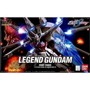 Models & Kits Obliging Bandai Zgmf-x666s Legend Gundam Seed Destiny Hg 1/144 Possessing Chinese Flavors Toys & Hobbies