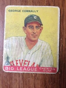 Details About 1933 Goudey Gum Co Baseball Cards