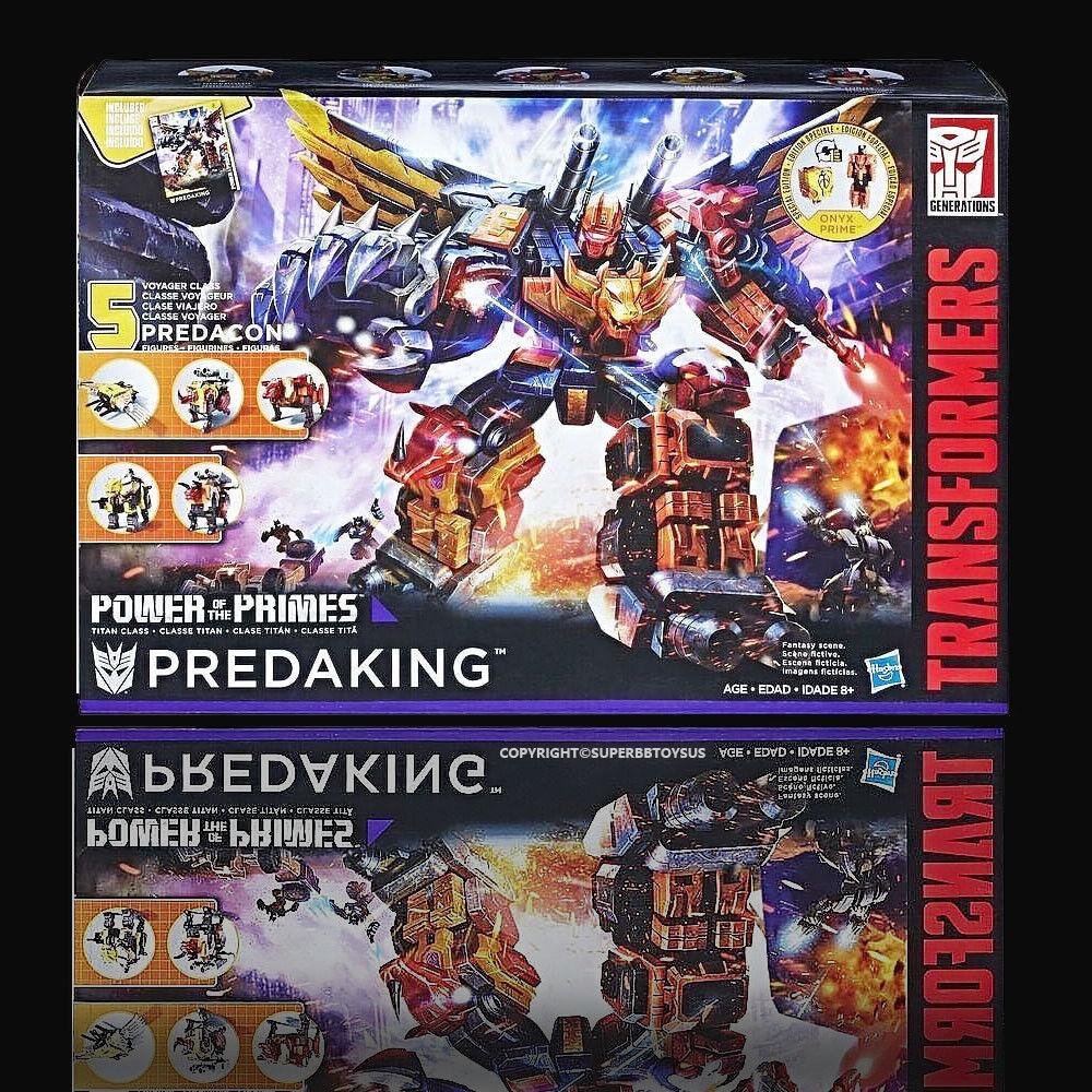 R DHL Hasbro Transformers Power of the Primes POTP Titan Class Predaking NEW