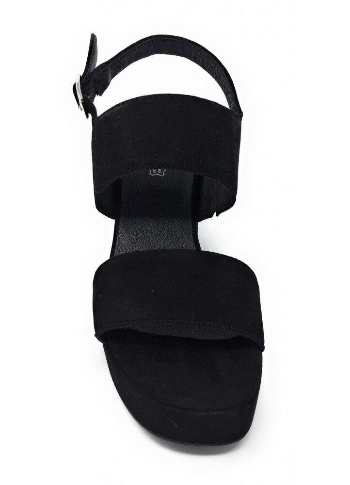 IGI & CO CO CO 1186133 sandali  a tacco plateau pelle camoscio nabuk cinturino 31b4c1