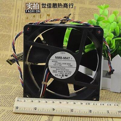 NMB-MAT 1511FB-04W-B56 fan 38*38*28mm 4pin 12V 0.46A #M3219 QL