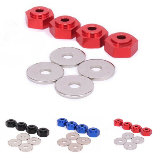 17mm to 12mm Hex Adapter 1:10 Replacement for Traxxas Slash 1//10 RC Short Course