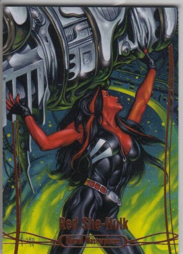 2016 Marvel Masterpieces ORANGE #1-90 Legendary Card Singles PICK Choose Lot