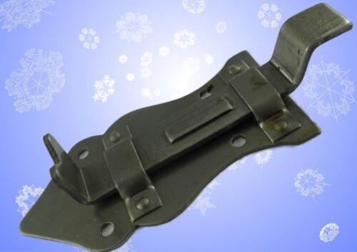 Loquet glissière fer rouillé épaulement cisaillement Barrette ferme-portes automatiques restauration