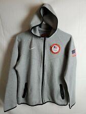 f478ba788eab item 8 Womens Nike Tech Fleece Full Zip Hoodie w Thumbholes Olympic Team USA  FLAG sz XL -Womens Nike Tech Fleece Full Zip Hoodie w Thumbholes Olympic  Team ...