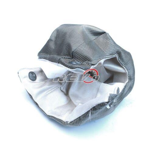 TITANIUM turbo heat shield blanket T6 t88 mid large frame garrett//TURBONETICS