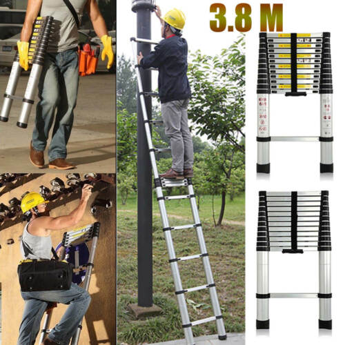 2.6 3.2 3.8 5.0 M Multi-Purpose Aluminium Telescopic Ladder Extension Extendable