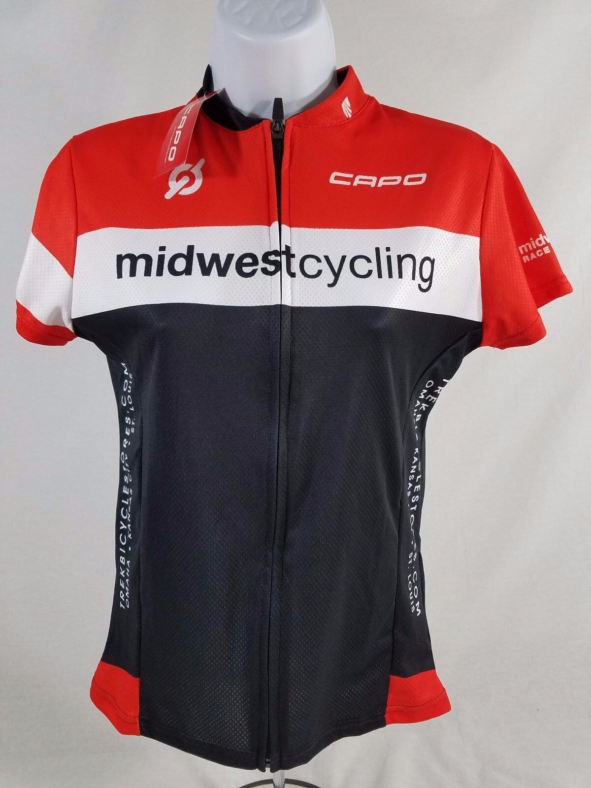 Capo Trek Store Club Women's Cycling Jersey SIZE Small 1a