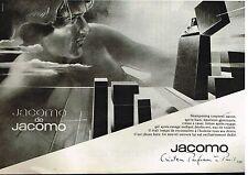 Publicité Advertising 1980 Ligne de soins pour homme Jacomo