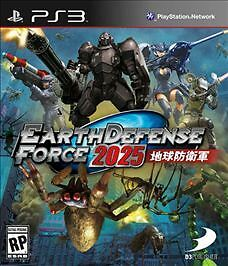 Ps3 Earth Defense Force 2025 (2014) - New - Playstation 3