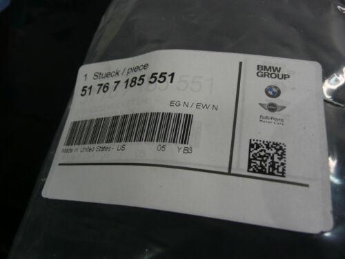 NEW GENUINE BMW E70 /& LCI E71 E72 ENGINE HOOD//MOUNTING GASKET BOUTH 51767185551