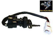 4 PIN IGNITION BARREL SWITCH, 2 KEYS: YFM 50 80 250 350 400 600 RAPTOR BIG BEAR
