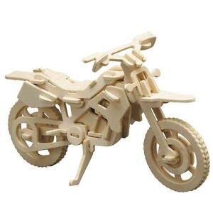 Hubschrauber 3D Holz Steckbausatz Bausatz Kinder Bastelset ab 8 Jahren