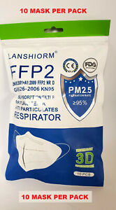 Lot of 1000 K-N95 FDA CE Face Protection Respirator Masks AUTHORIZED US SELLER