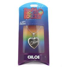 Personalised Mood Locket Necklace - CHLOE