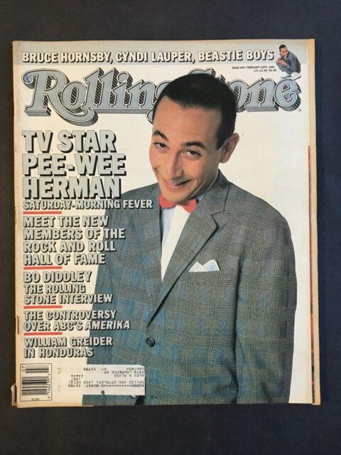 Rolling Stone Magazine  February 12 1987   Pee-Wee Herman