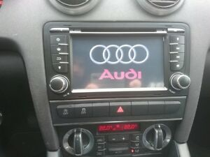 autoradio gps sd usb tactile audi a3 ebay. Black Bedroom Furniture Sets. Home Design Ideas