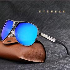 HD Mens Polarized Driving Sunglasses Sports Sun Glasses Uv400 Fashion Eyewear