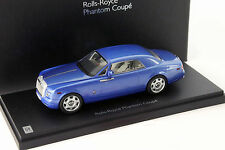 Rolls-Royce Phantom Coupe Baujahr 2012 arabian blau 1:43 Kyosho