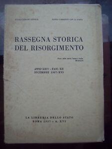 1937-RASSEGNA-STORICA-DEL-RISORGIMENTO-CURTATONE-E-MONTANARA-PIERO-CIRONI