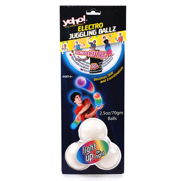*NEW* YoHo YoHo Electro Juggling Balls Ballz LED Light