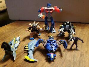 Transformers Lot of 2000's Era - some Hasbro  FIGURES & PARTS LOT  Optimus Prime