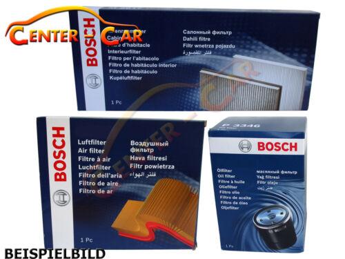 ORIGINAL Bosch Filtersatz Ölfilter Luftfilter Innenraumfilter P9244 S0181 M2205