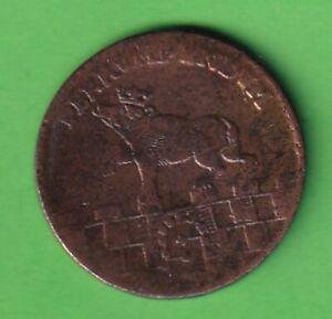 Anhalt Cu 3 Pfennig 1753 stampsdealer
