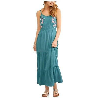No Boundaries Cover Up Women Beach Sundress Maxi Swimsuit NWT Small Medium Large