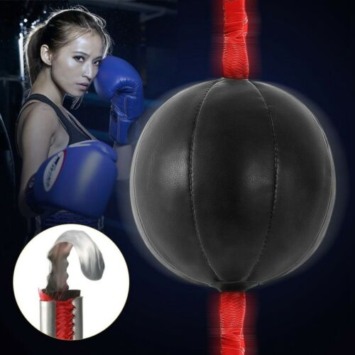 Speed Equipment Double End Boxing Speed Ball Punch Bag PU  Gym Training-Fitness