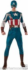 Captain America Winter Soldier Adult Costume Marvel ComicsXL 44-46 Rubies 820048