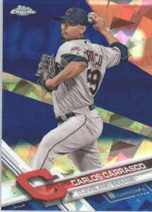 CARLOS-CARRASCO-2017-TOPPS-CHROME-SAPPHIRE-EDITION-31-ONLY-250-MADE