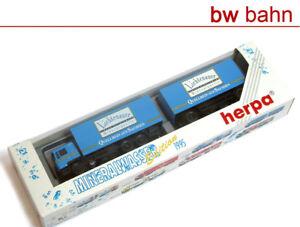 Herpa-h0-184076-Man-maleta-hangerzug-lichtenauer-mineralquelle-agua-mineral-95