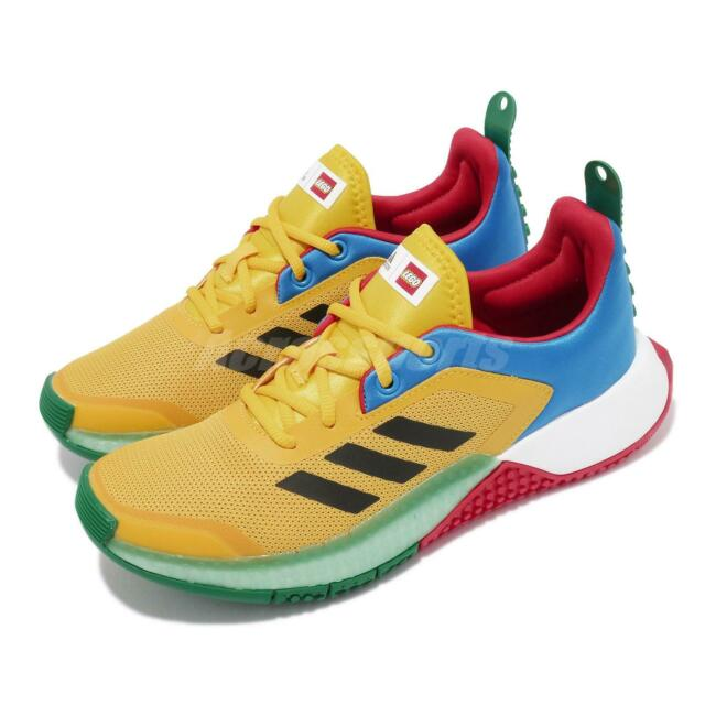 adidas X Lego Sport J Kids Running Shoe FY8439 Youth Size 4