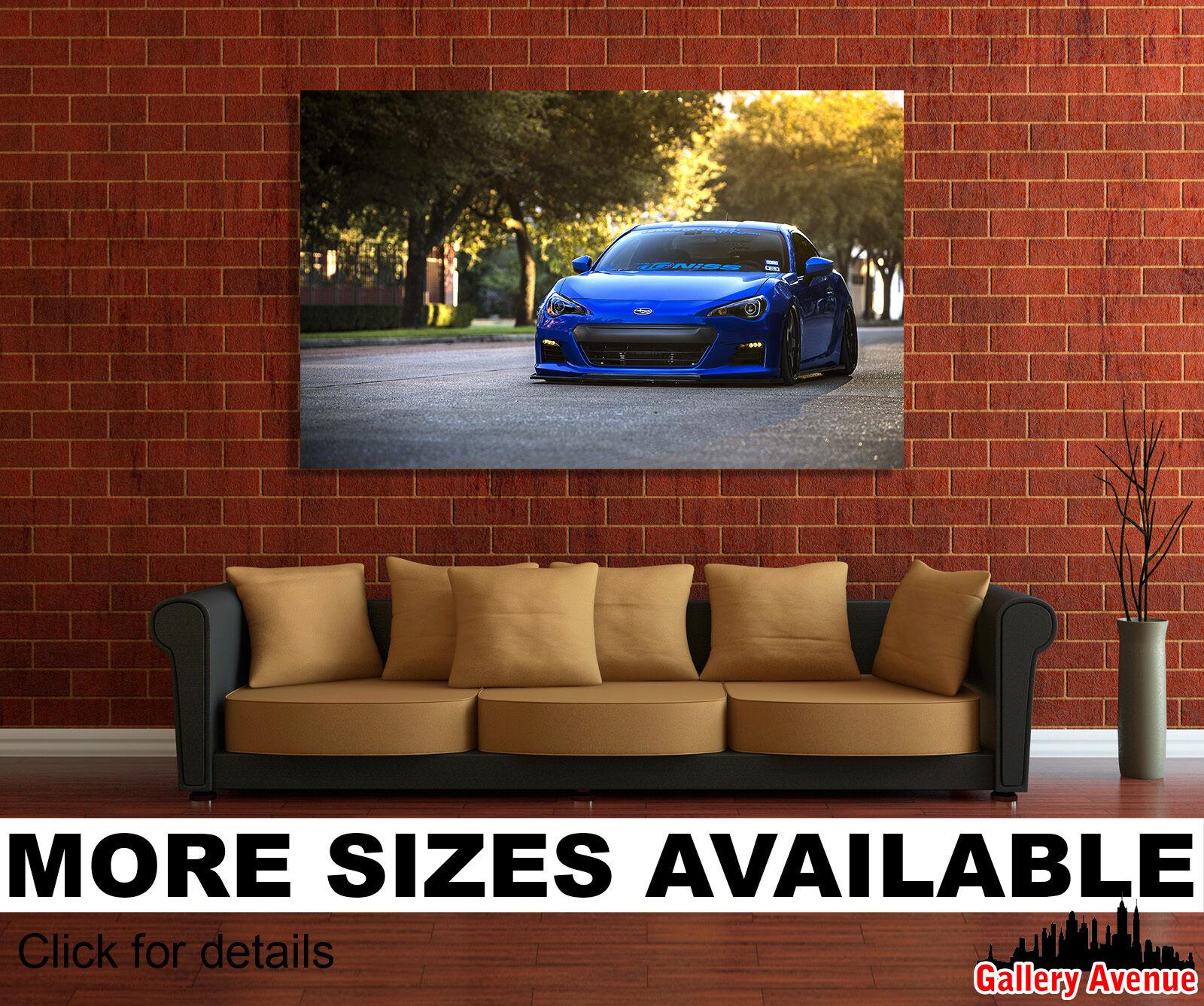 Wall Art Canvas Picture Print - Subaru BRZ Sports Car 3.2