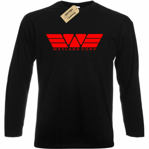 Weyland Yutani Corp Inspired by Alien Mens T-Shirt tee top gift long sleeve