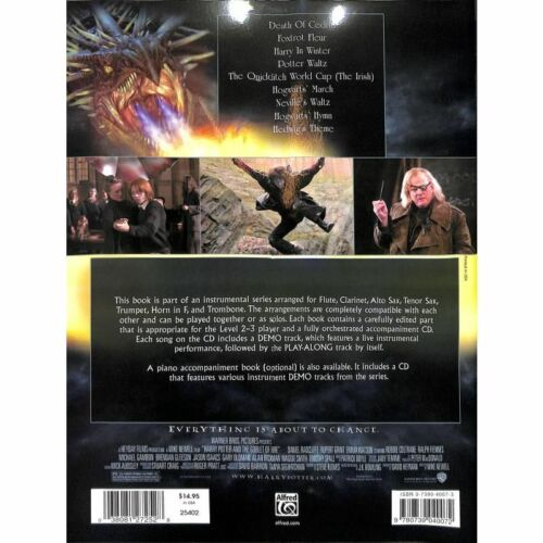 Harry Potter and the Goblet of Fire Flöte Noten Musiknoten