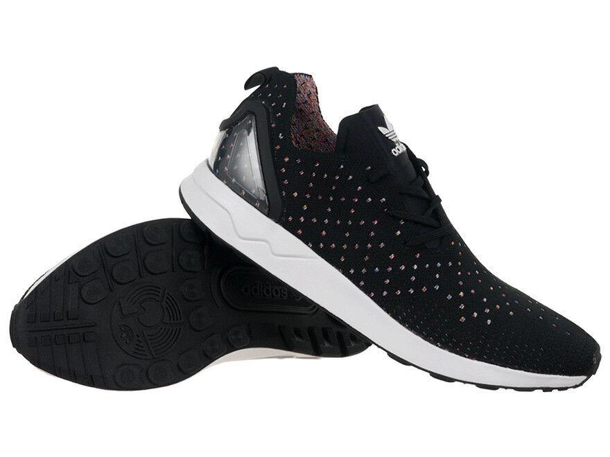 adidas Originals Herren ZX Flux ADV Asymmetrical Primeknit Schuh schwarz