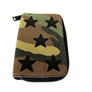 11382fc9259 J-3243979 New Saint Laurent Camouflage Stars Credit Card Key Holder ...