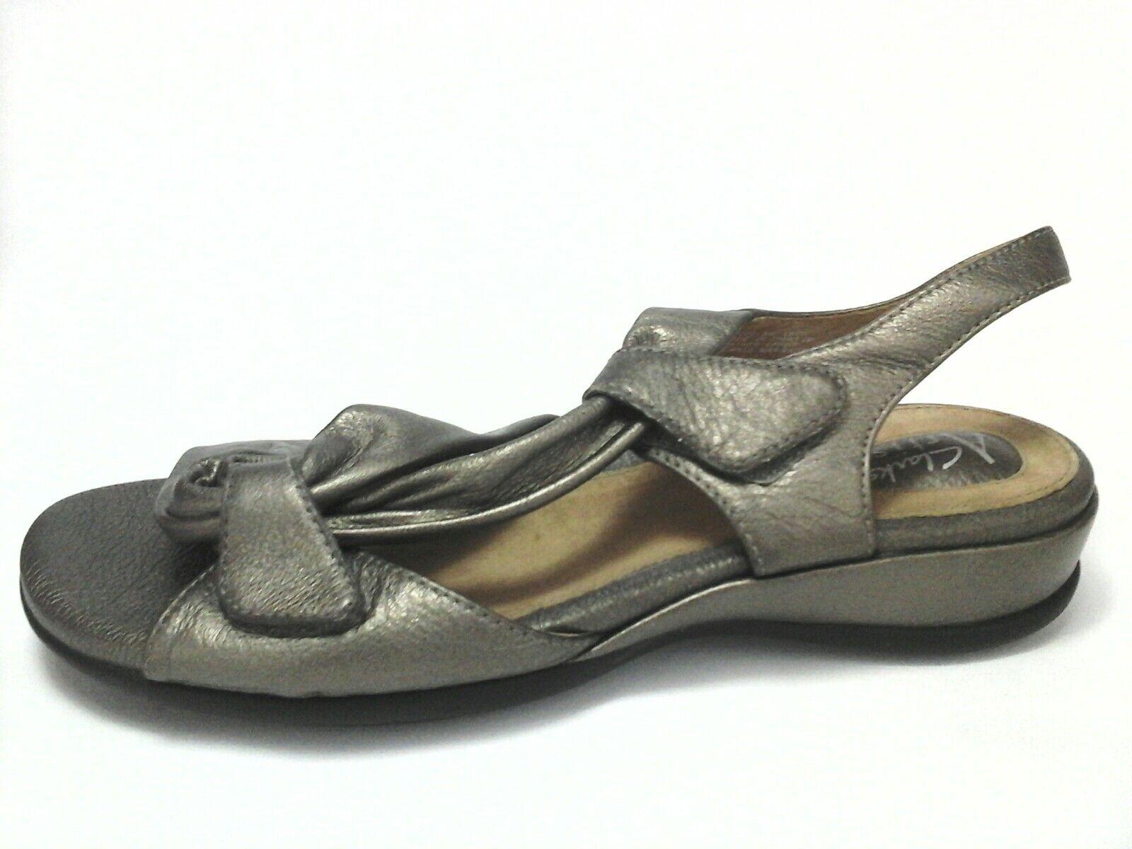 CLARK'S ARTISAN Comfort Schuhes SANDALS Strappy Bronze Leder Schuhes Comfort Damenschuhe US 8 /39 85 7a3474